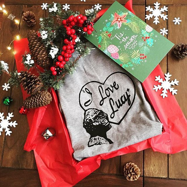 'Tis the season for fabulously wrapped, smart, witty holiday gifts for you and yours ♥ Snag yours via the link in our bio! . Our shop will be closing on Dec 18th for the holidays.
