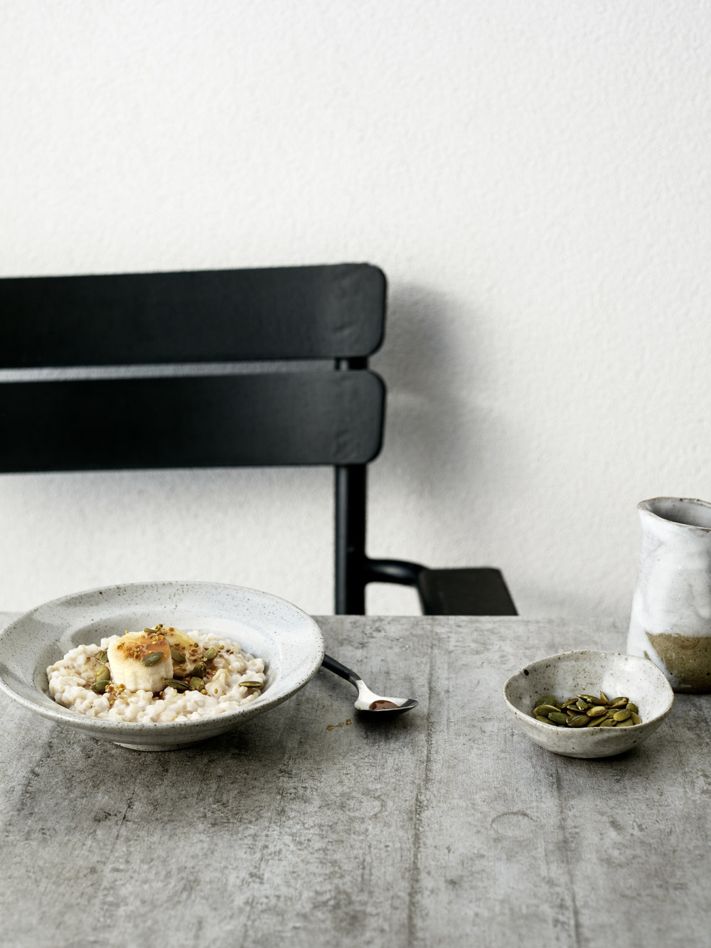 Brown Rice Porridge // Kenkō Kitchen. Photography by    Elisa Watson   , styling by Kate Bradley (Kenkō Kitchen).