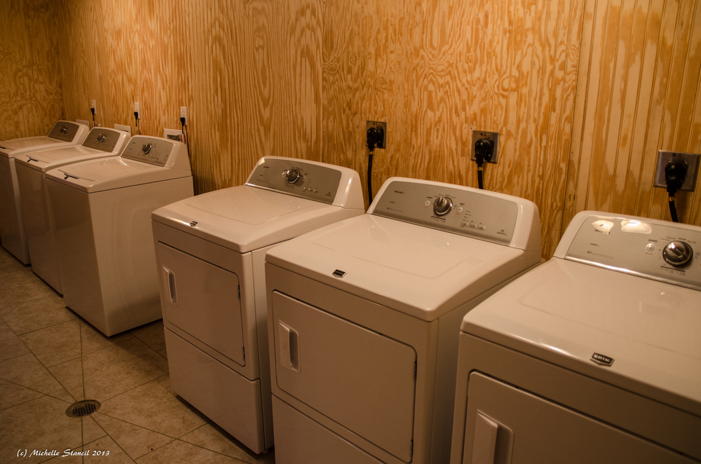 New Free Laundry Facilities