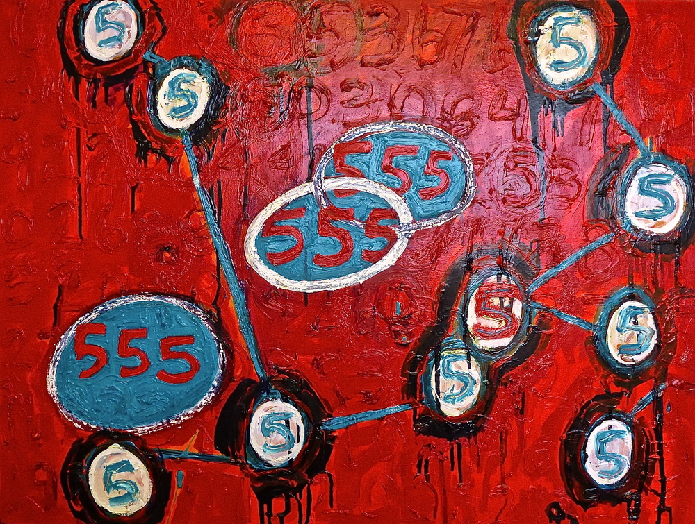 ​ It Must Be Lucky   2005 | oil on canvas | 30 x 40 |​ $1900