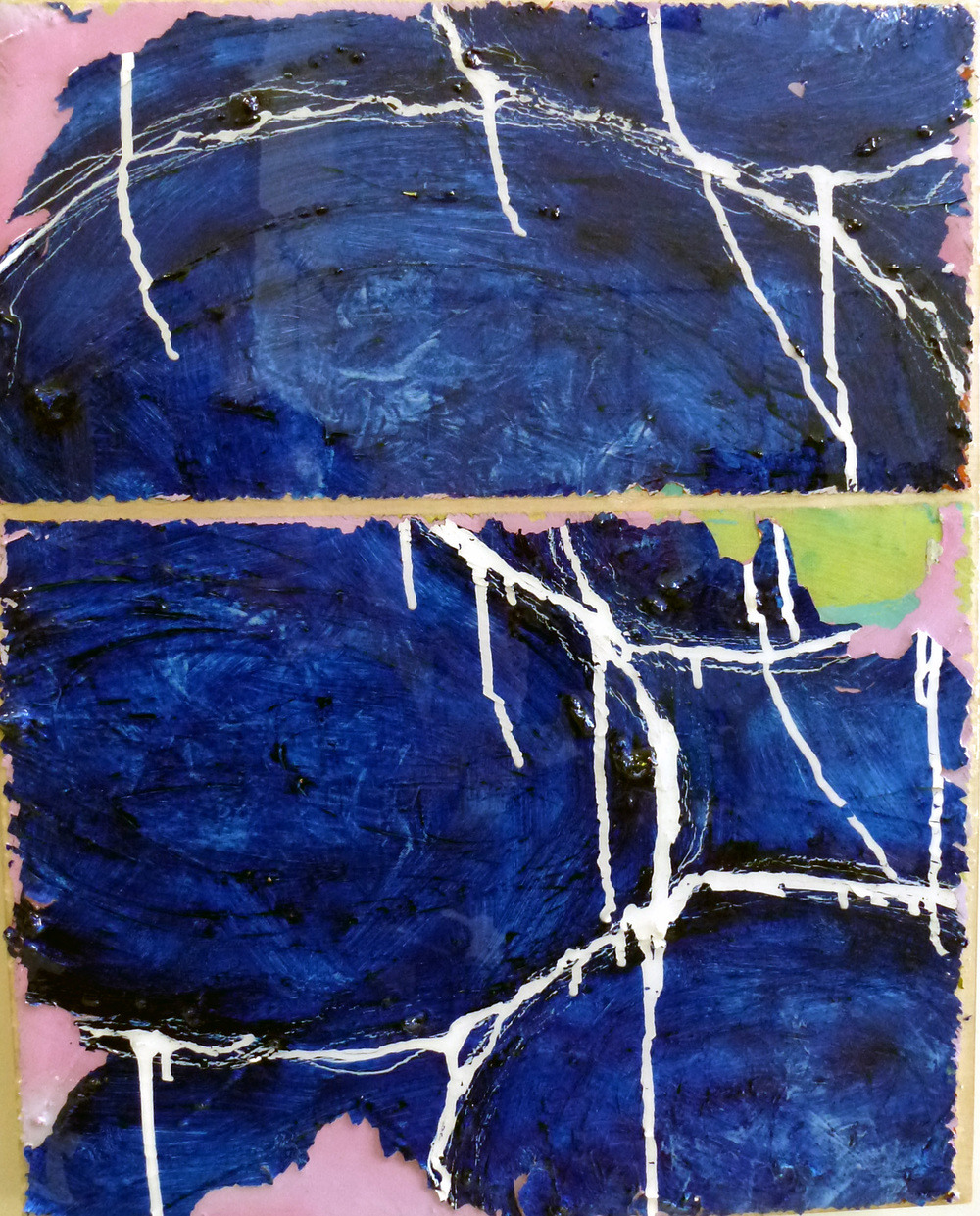 It's Already Too Late Exhibit B   2014 | oil on canvas mounted on panel with epoxy | 16 x 20 | $525