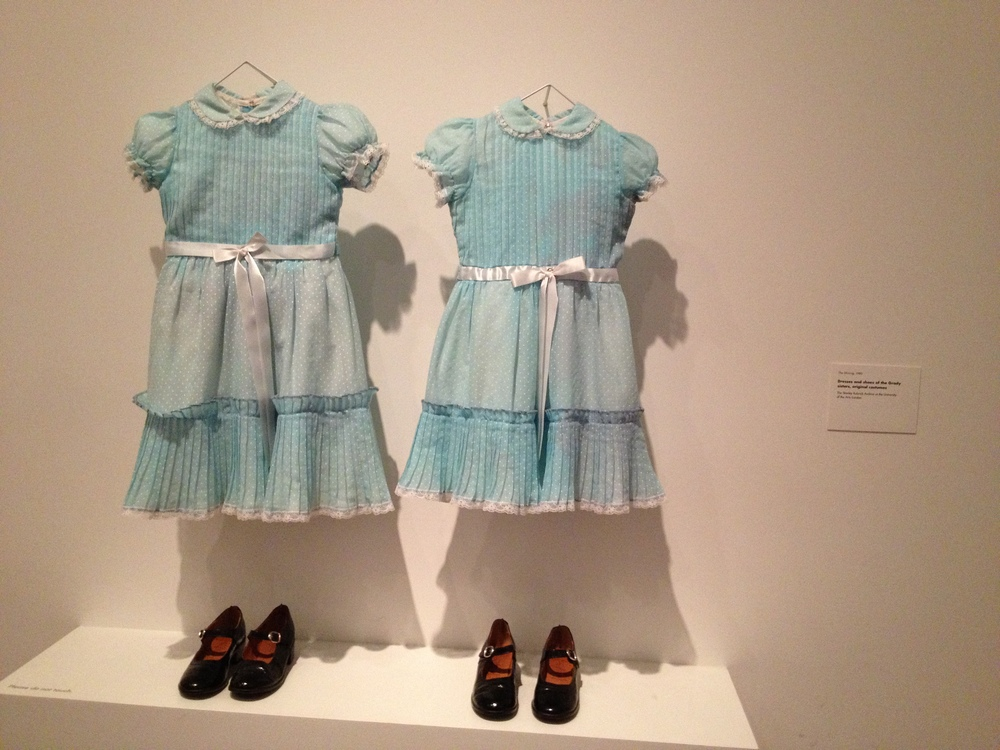 Original dresses worn by the creepy twins in  The Shining !