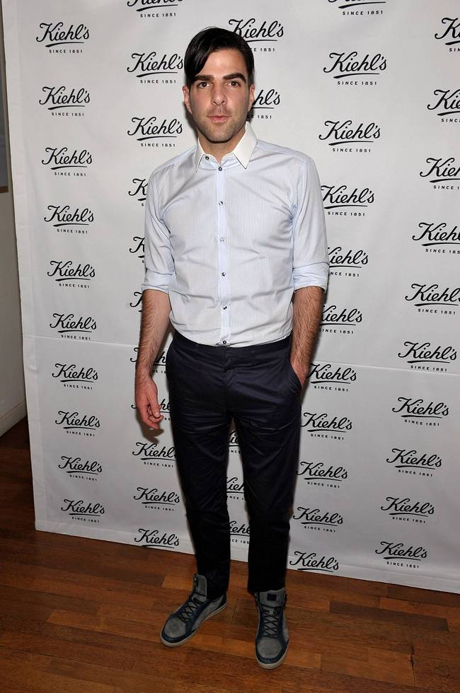 Kiehl's also partnered with Zachary Quinto for the celebration