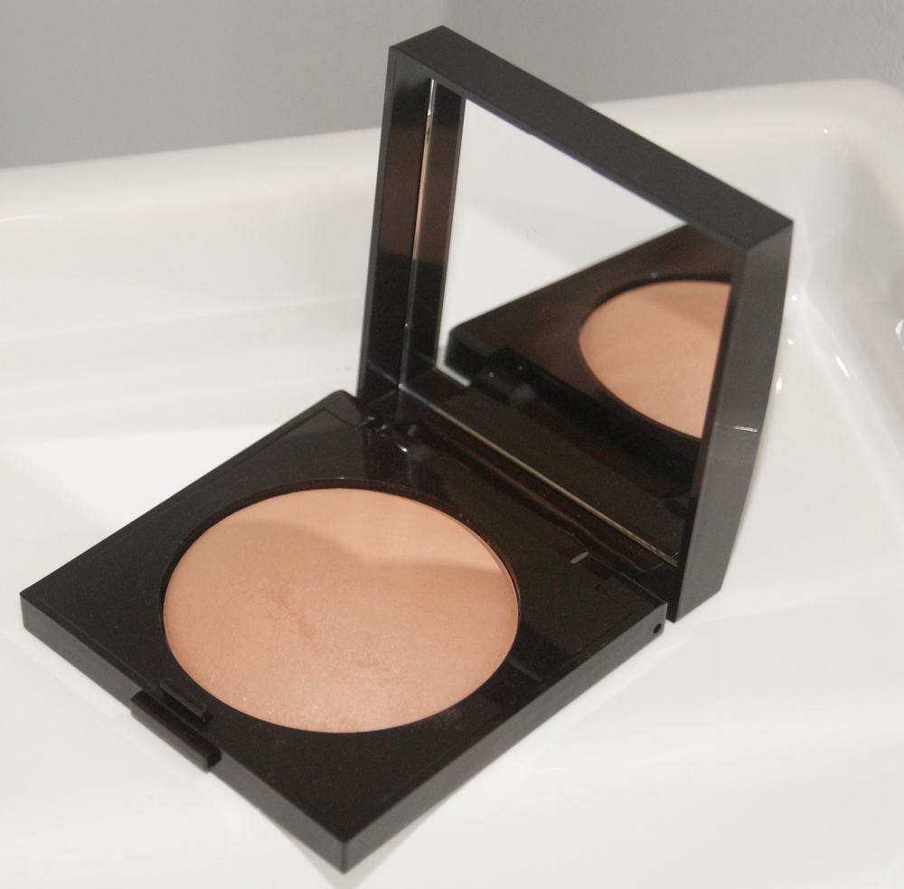 Laura Mercier Matte Radiance Baked Powder, $36.  Available in five shades. I used Bronze-03.