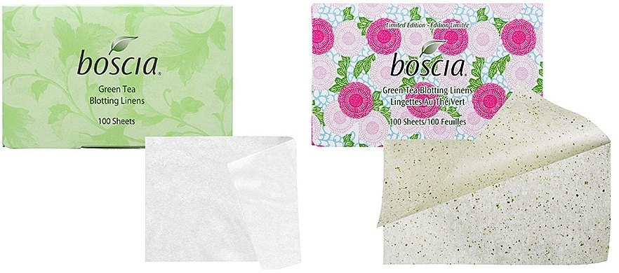 No more shiny face and these leave on your make-up!  Oil Blotting Sheets by Boscia  $10
