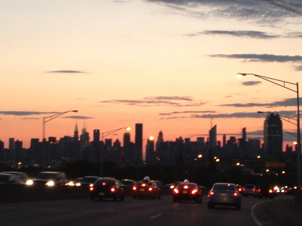Recent trip to New York. Photo shot on the way back from Long Island to NYC.