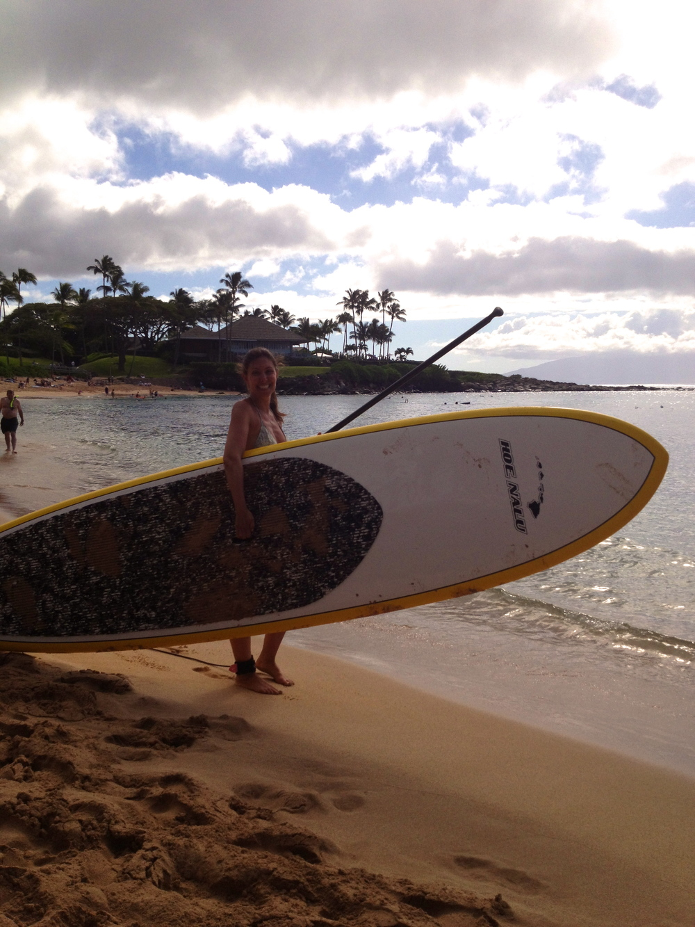 In Maui!