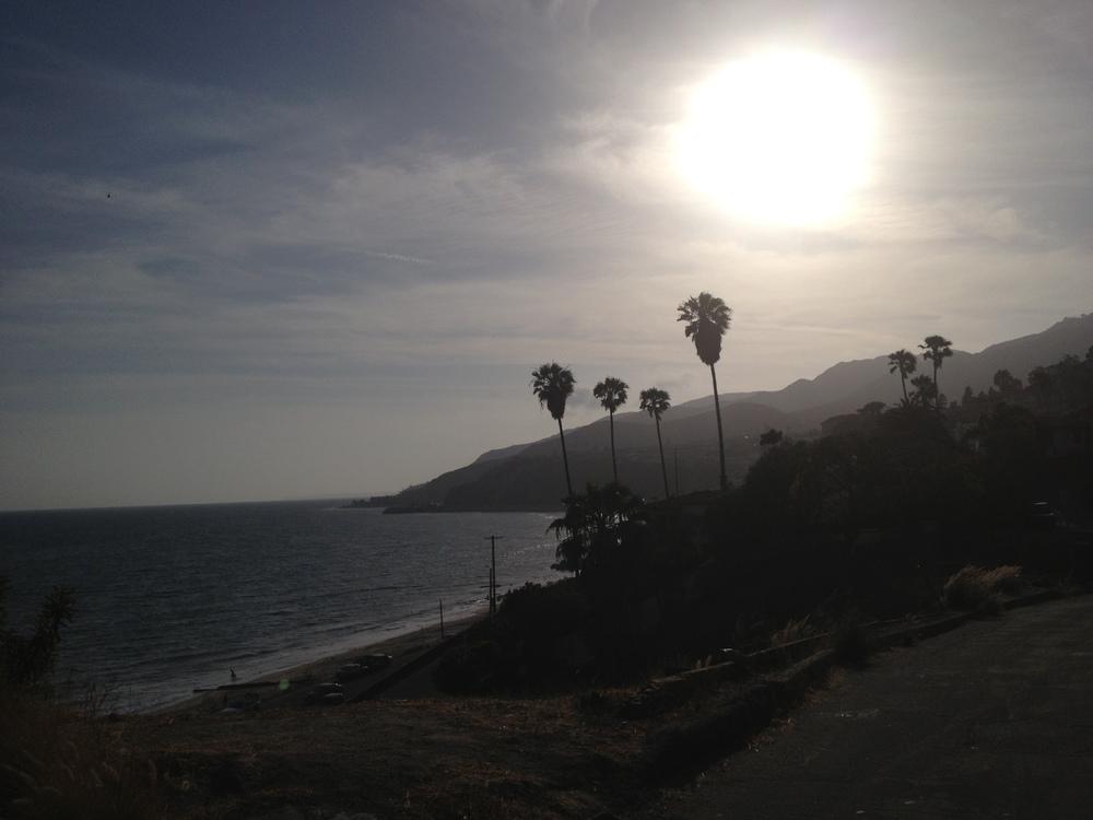 Pacific Palisades view of Malibu. Beautiful Cali!