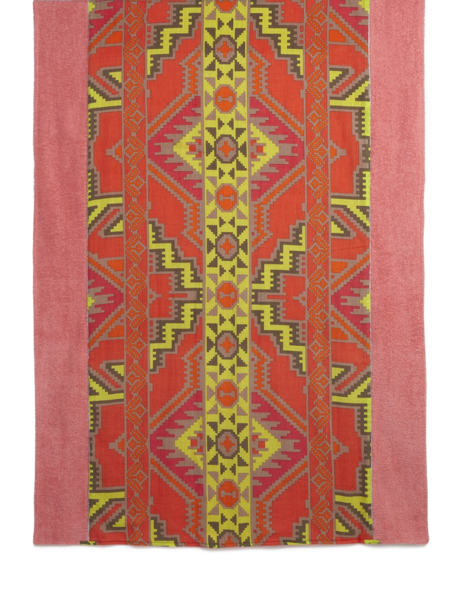 Coral Multi Chichen Itza beach towel, $150.