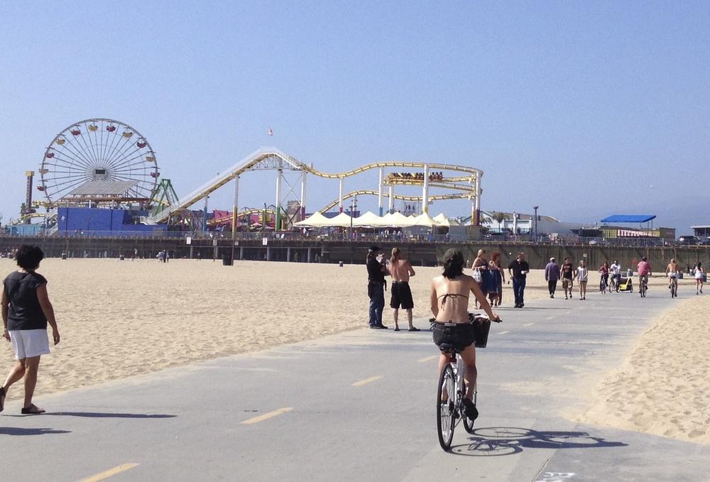 The Pier in Santa Monica, CA, August 2013
