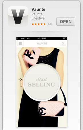 Vaunte just launched a new iPhone app too!  Check it out for the latest sales.