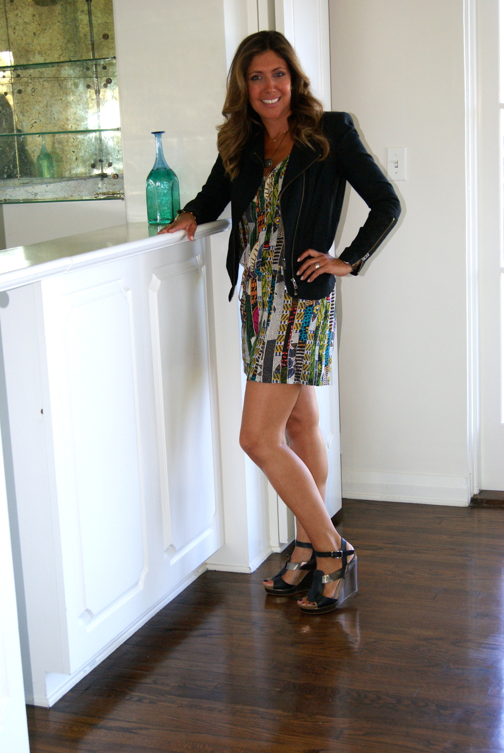 This romper is so versatile and truly a great day to night piece.  Shoes: Jill Sander (no longer available).