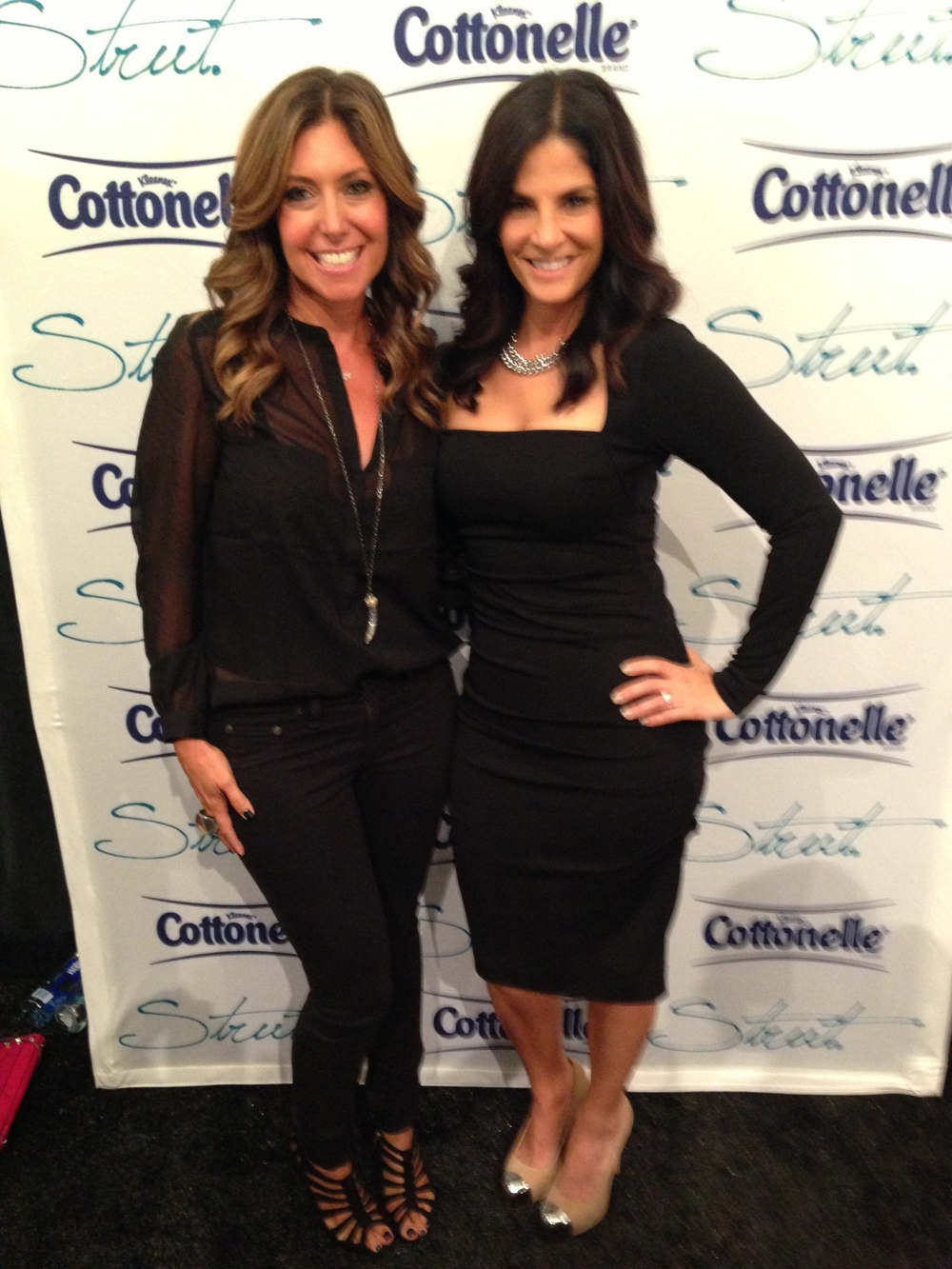 Posing with Darlene Rodriguez of NBC New York!