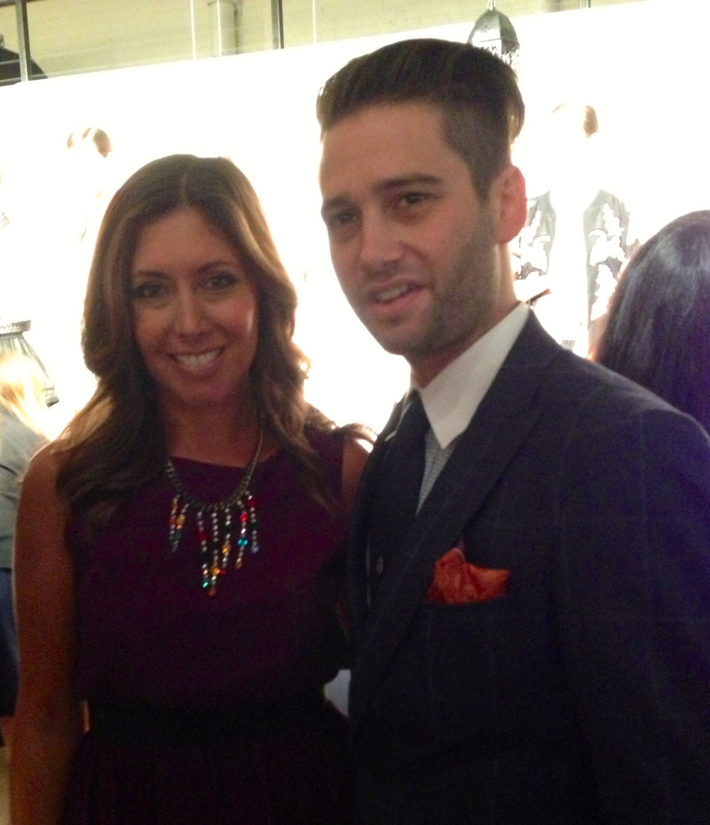 With the always fashionable Josh Flagg from Bravo's Million Dollar Listing LA