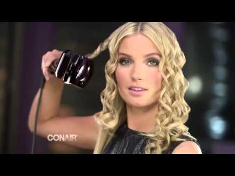 Tight waves shown here. Infiniti Pro by Conair Curl Secret, $99.99