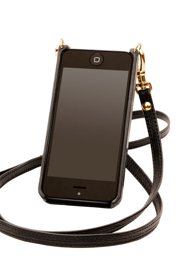 Bandolier Donna Plain iPhone Case & Strap, $80