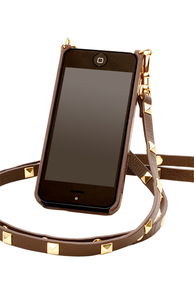 Bandolier Sarah iPhone Case & Studded Strap, $95