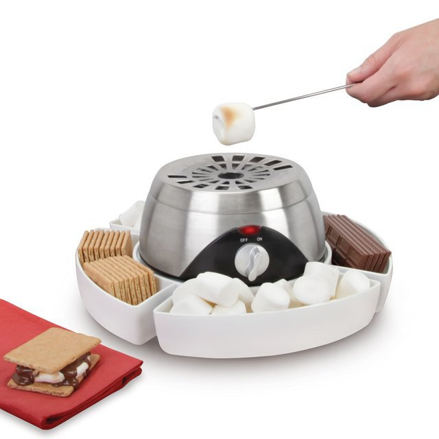 Hammacher Schlemmer, Indoor flameless Marshmallow Roaster $88
