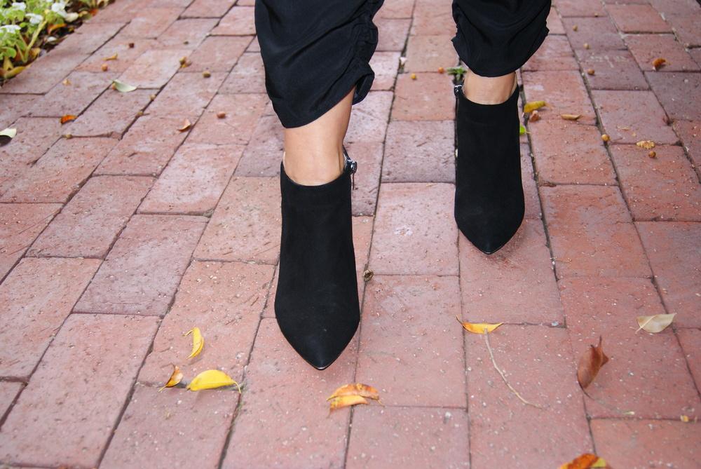 Pura Lopez Low Cut High Heel Bootie, $410
