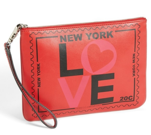 Rebecca Minkoff 'NEW YORK' Travel Pouch, $95