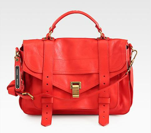 Proenza Schouler PS1 Medium Satchel, $1695