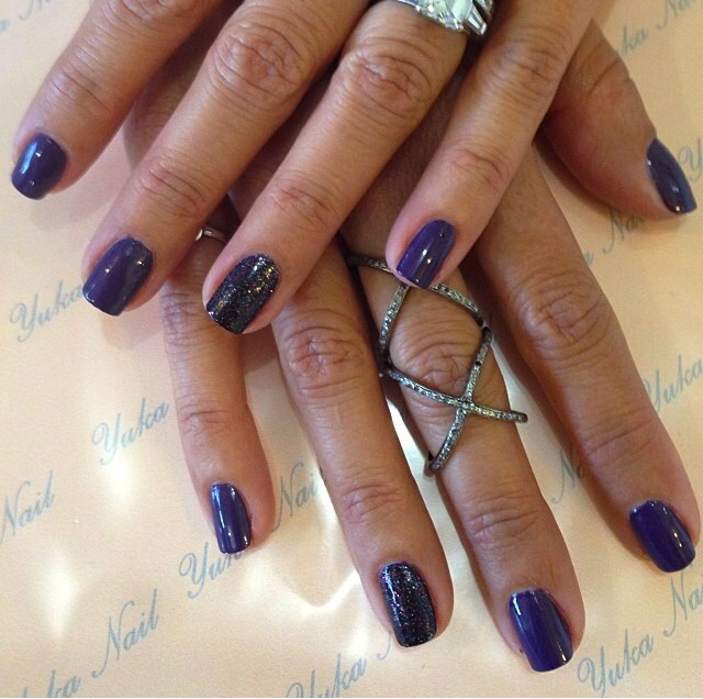 Mani Monday: Best Purple and Sparkle by Butter London
