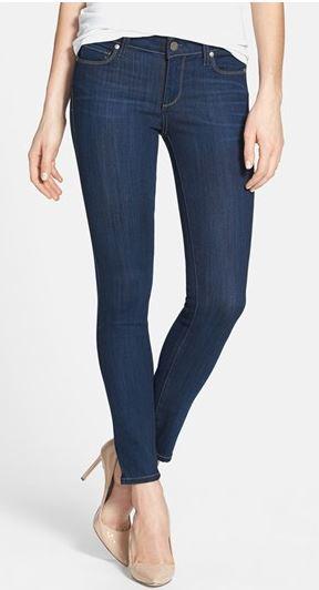 Paige Denim 'Verdugo' Skinny Ankle Jeans (Ashbury)$199.00