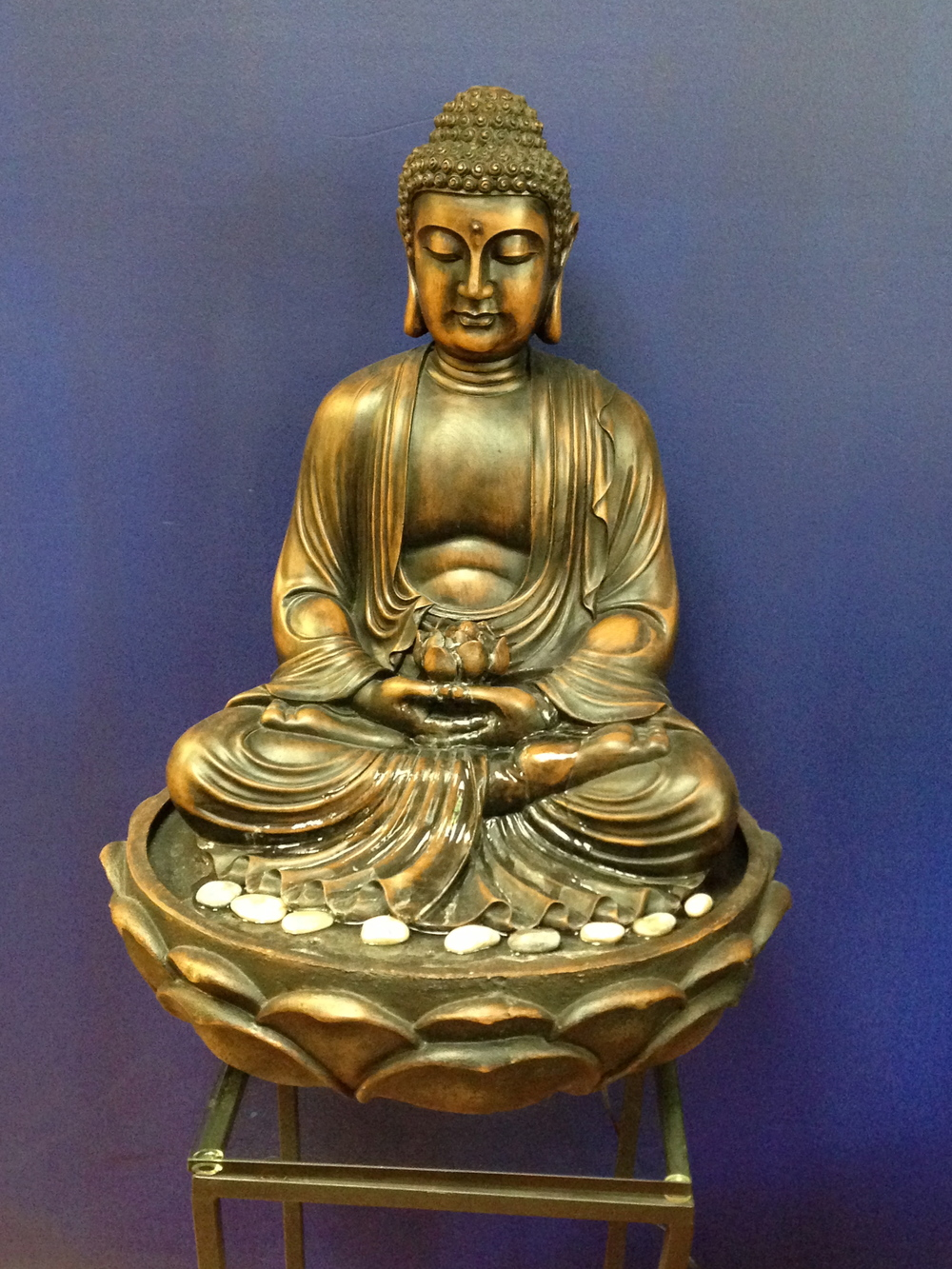 Buddah at the  Akasha Center for Integrative Medicine .