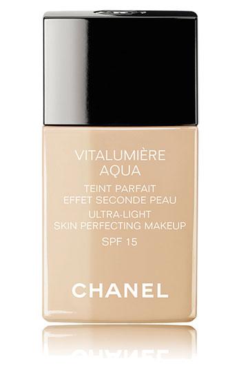 Buy:  Chanel Vitalumiere Aqua Ultra Light Skin Perfecting Makeup, $45
