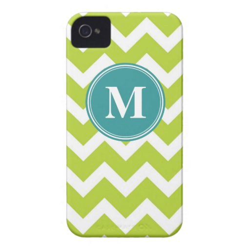 Zazzle Monogram Chevron Stripe, $42.95