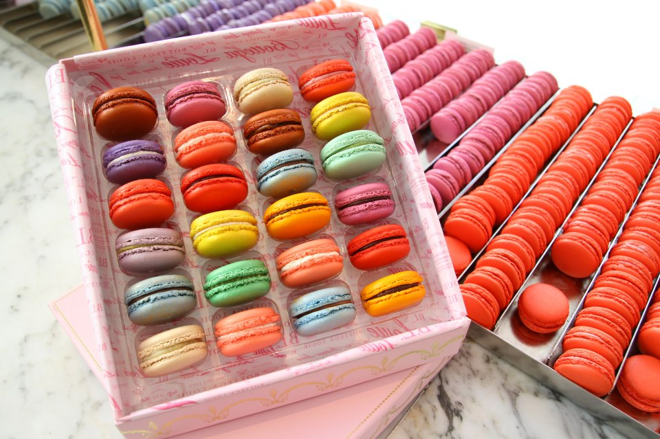 Bottega Louie assorted macarons