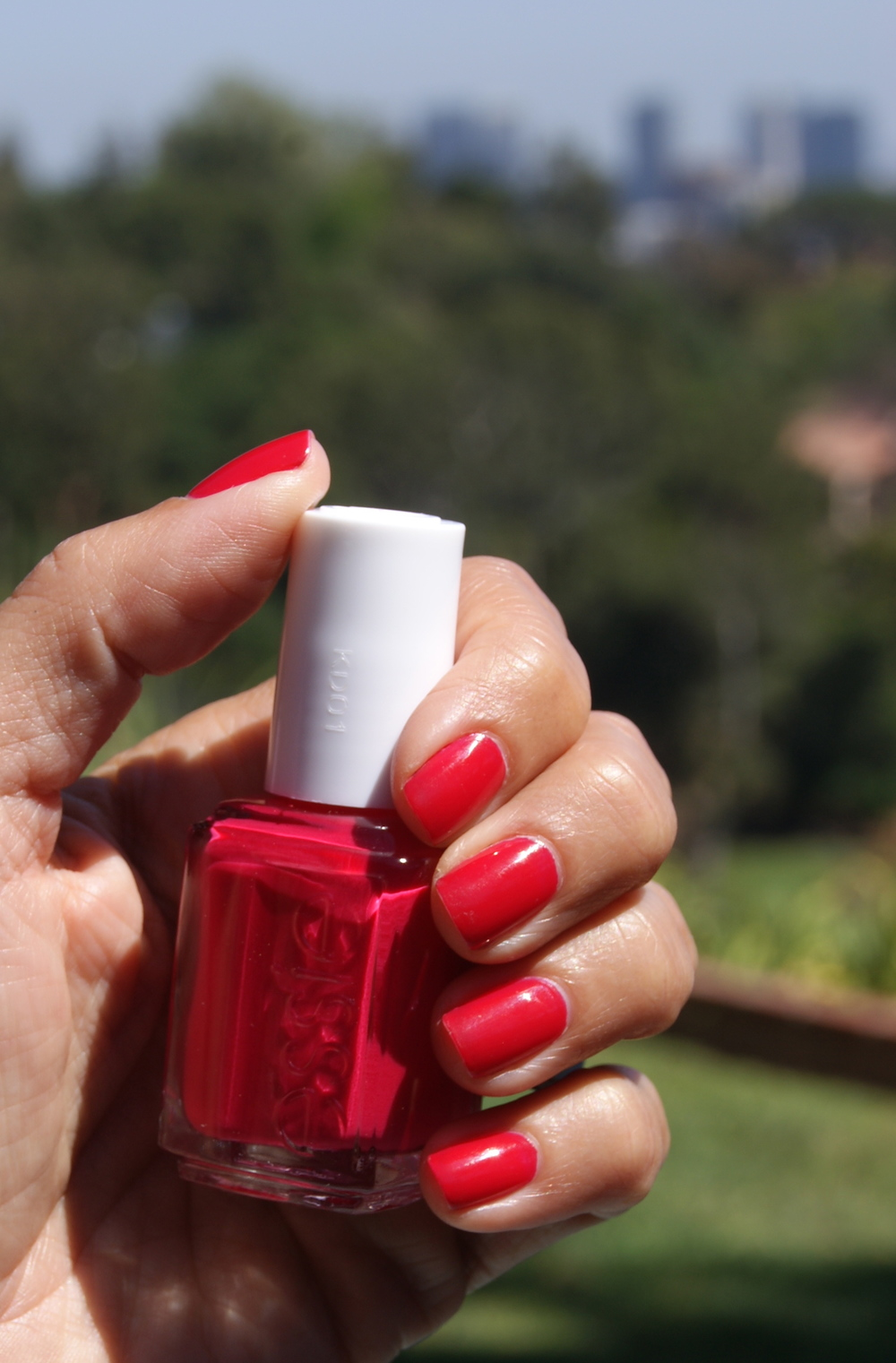 Nail color by Essie: Shade is Style Hunter, $8.50