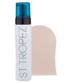 St. Tropez self Tan Bronzing  Mousse , $18 and  Mitt , $6.50
