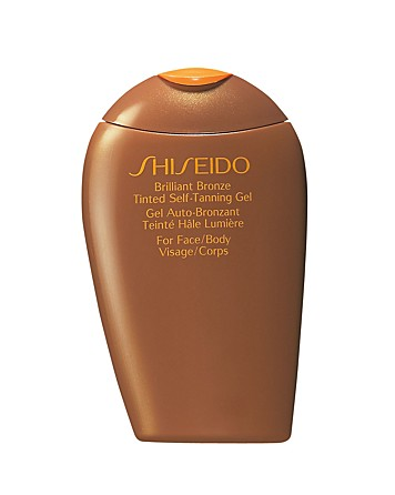 Shiseido Brilliant Bronze Tinted Self-Tanning Gel , $30