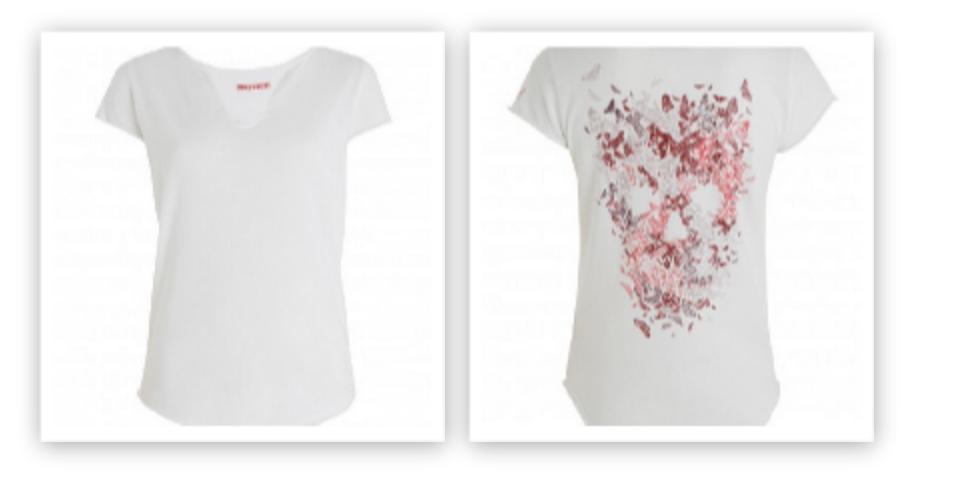 Zadig & Voltaire Tunisien T Shirt, $80