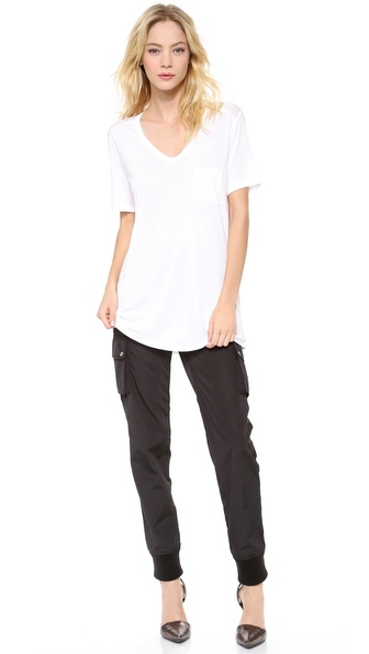 T by Alexander Wang Classic T Shirt with Pocket , $85