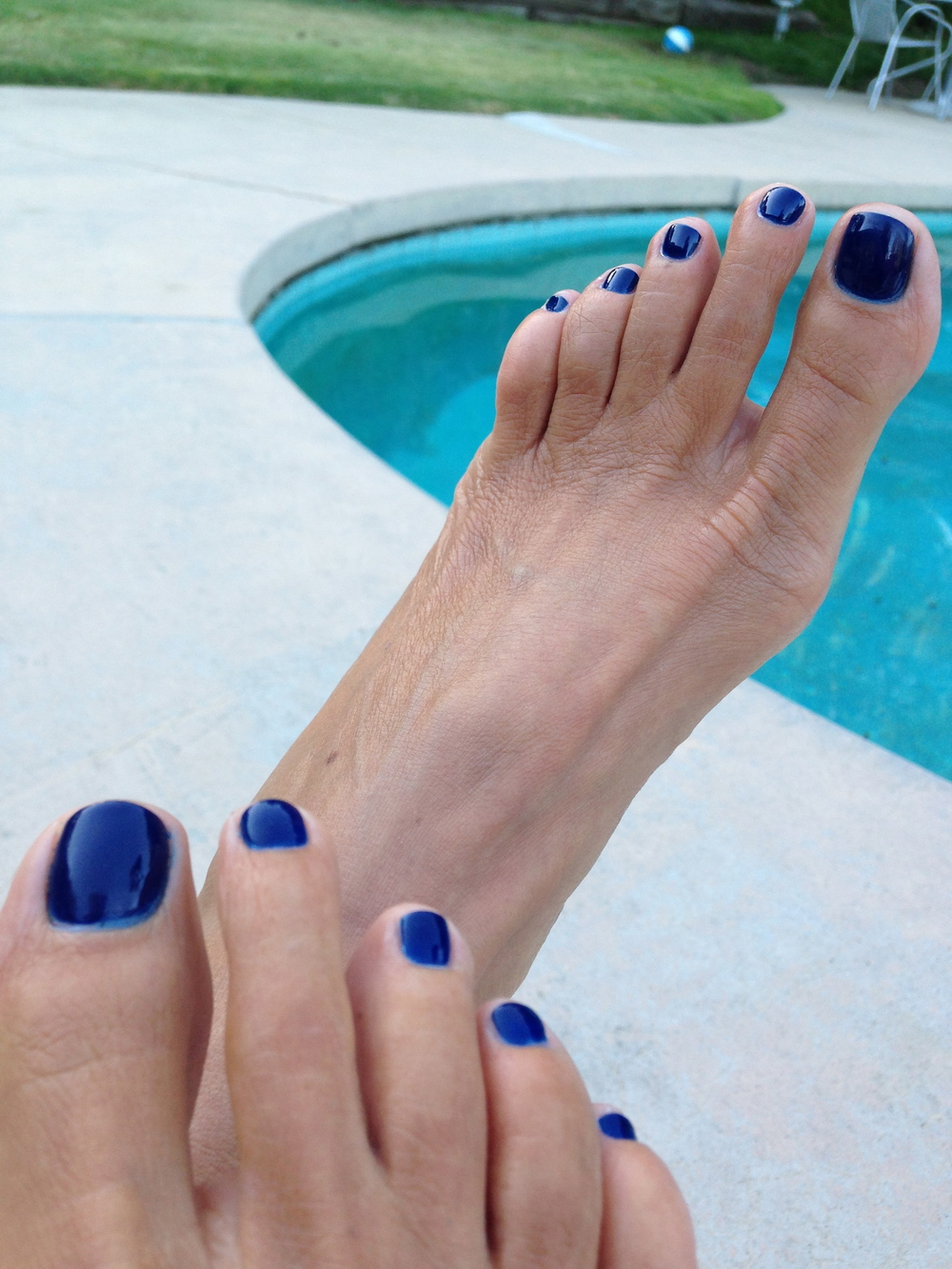 Perfect pedi for Fall: essie's new inky blue shade,  Style Cartel, $8.50.