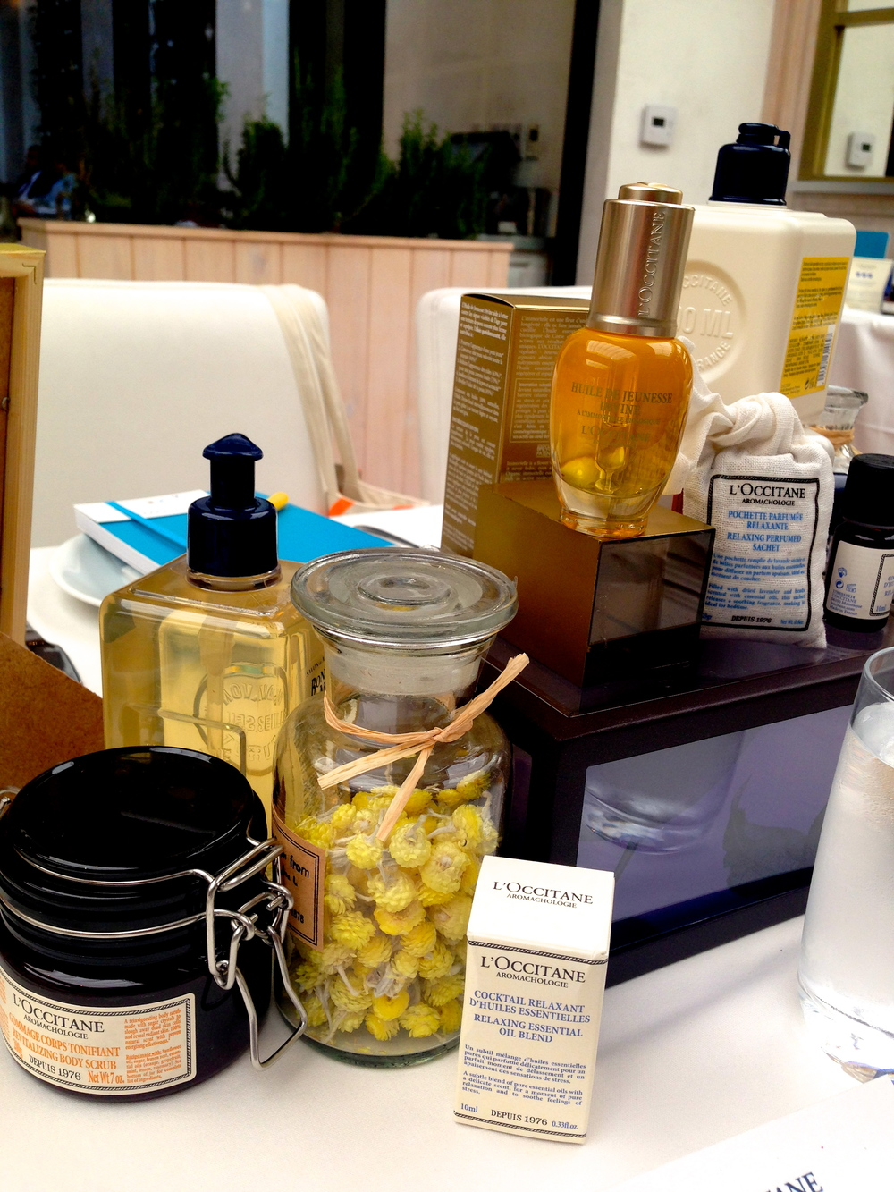 Some of L'Occitane's newest products!