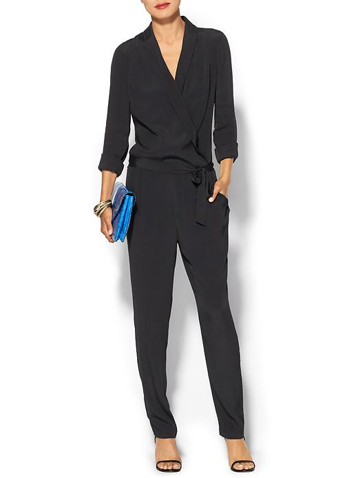 Piperlime Collection Long Sleeve Ashley Romper in black, $139
