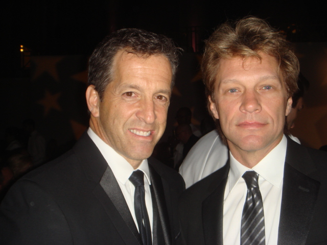 Kenneth Cole and John Bon Jovi