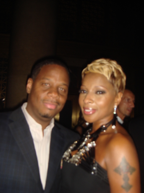 Kendu and Mary J Blige