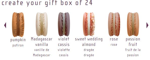 Lette Macarons - Create your own box of 24, $44