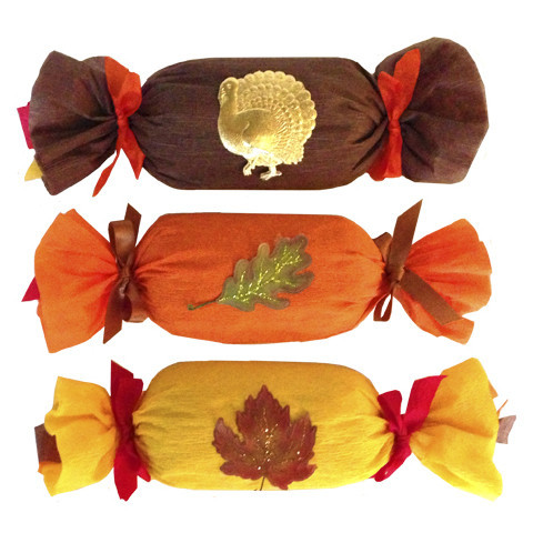 Deluxe Surprize Ball Thanksgiving Cracker, $17.90. Includes 12 prizes each.