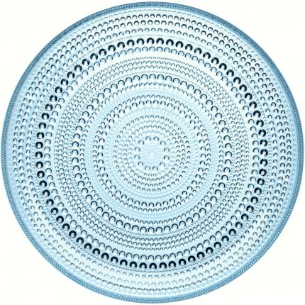 Kastehelmi Medium Plate, $48, shown in light blue