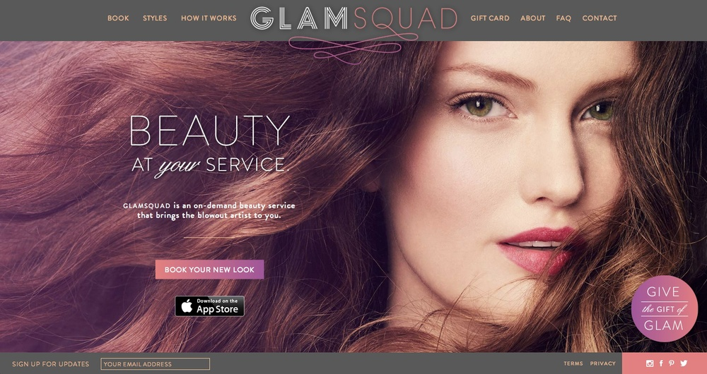 Visit GlamSquadto learn more.