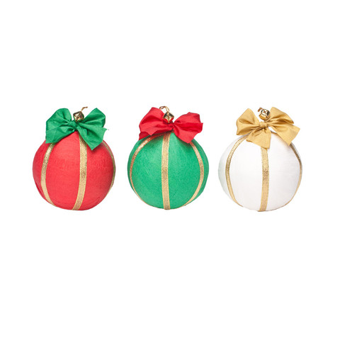 Deluxe Surprize Ball Holiday Ornament, $18.00 Contains 12 prizes.