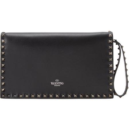 Valentino Rockstud Flap Clutch, $1,995