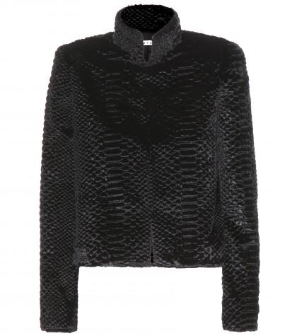 Alice+Olivia Andie Faux-Fur Jacket, $550
