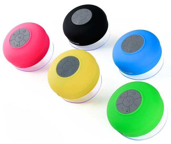 Splash Tunes by Freshetech Waterproof Bluetooth Speaker, $45
