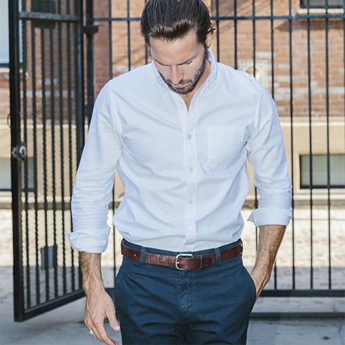 Buck Mason Oxford Shirt, $88. Free shipping through 12.31.14